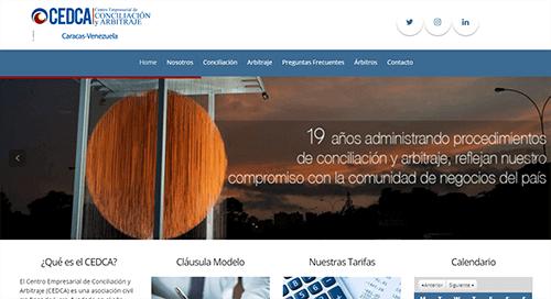 sitio web cedca