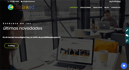 pagina web analytics