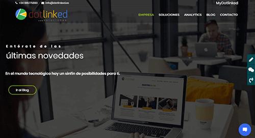 pagina web analytics
