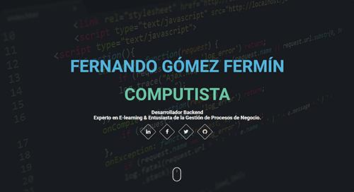 pagina web de programador