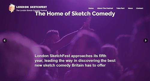 pagina web festival