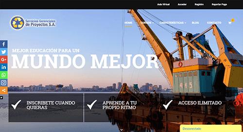 pagina web gdp