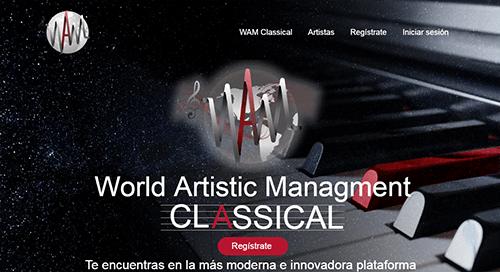 pagina web musica clasica