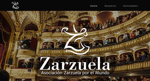 pagina web zarzuela