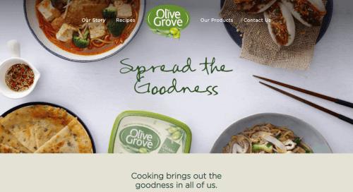 desarrollo web de paginas de comida