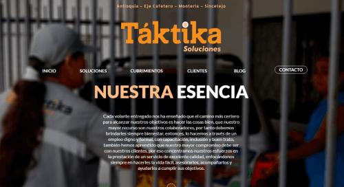 Desarrollo de paginas web de servicios